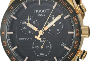 Tissot rose gold chronograph